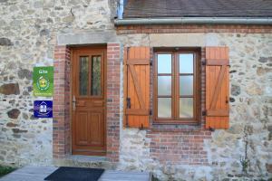Cottage 12 people in Creuse - Porte d'entrée